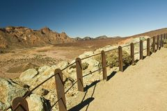 Teide View point Stock Photography