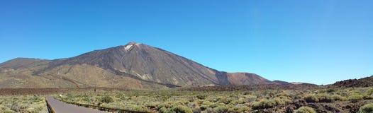 Teide views from the Parador Stock Image