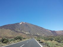 Teide views from the Parador Royalty Free Stock Photography