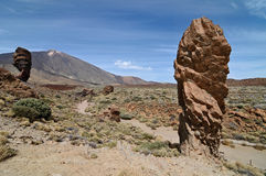 Teide Volcanic High Mountains Royalty Free Stock Photography