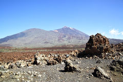 The Teide volcano Royalty Free Stock Photo