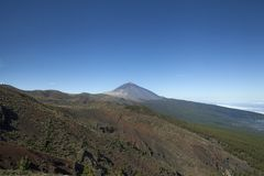 Mount Teide at Tenerife, Canary Islands stock photography