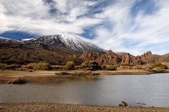 Teide volcano from far Stock Photo