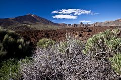 Teide - volcano landscape Royalty Free Stock Images