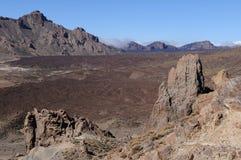 Teide volcano landscape Stock Image