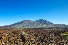 Teide volcano naitional park Royalty Free Stock Photography