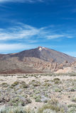 Teide volcano at National Park Stock Photography