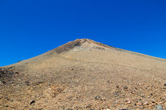 Teide volcano peak Royalty Free Stock Photo