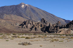 Teide volcano plain Stock Image