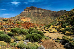 Teide Volcano in Tenerife Royalty Free Stock Image