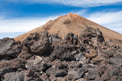 Teide volcano. Tenerife, Canary Islands Stock Photos