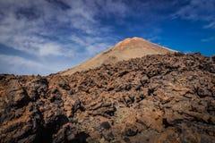Pico del Teide volcano stock photos