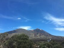 Teide volcano. In Tenerife, Canary islands stock images