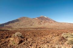 Teide, volcano in Tenerife. Spain Stock Images