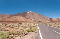 Teide, volcano in Tenerife. Spain Royalty Free Stock Photography