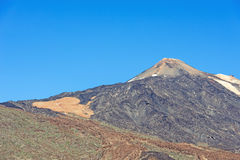 Teide Volcano on Tenerife Stock Photo