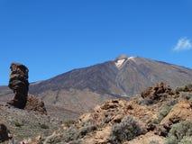 Teide vulcano. Landscape view of the teide vulcano Royalty Free Stock Photography