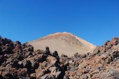 Teide Vulkan stockbilder