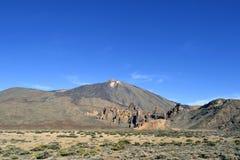 Teide vulkan i klart väder på Tenerife Royaltyfria Foton