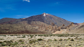 Teide Vulkan Teneriffa, Spanien Stockfoto
