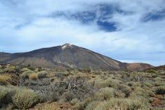 Teide Vulkano Στοκ φωτογραφία με δικαίωμα ελεύθερης χρήσης