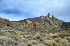 Teide Vulkano Imágenes de archivo libres de regalías