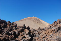 teide wulkan Obrazy Stock