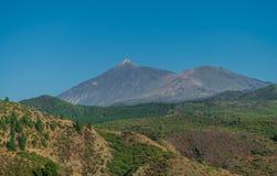 Teide wulkanu krajobraz, Tenerife obrazy stock