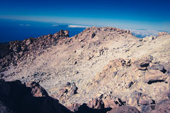 Teides maximum, Tenerife royaltyfri foto