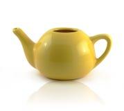 Teiera ceramica semplice Fotografie Stock