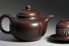 Teiera di ceramica Immagini Stock Libere da Diritti