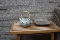 Teiera di stile cinese Fotografia Stock