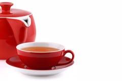 teiera e tazza di tè Immagine Stock