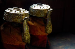 Teiere tibetane Immagini Stock