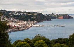 Teignmouth Девон стоковые фотографии rf