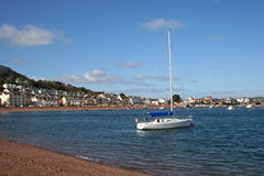 Teignmouth beach Stock Images