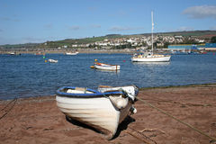 Teignmouth beach Royalty Free Stock Photos