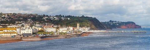 Teignmouth Devon Αγγλία Στοκ Φωτογραφίες