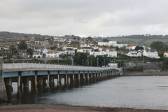 Teignmouth Devon Photographie stock libre de droits