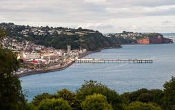 Teignmouth Devon fotografie stock libere da diritti