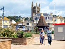 Teignmouth, Devon stockbilder