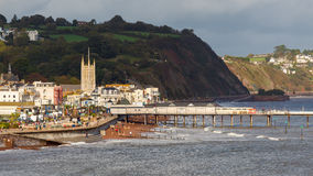Teignmouth Devon England Stock Photo