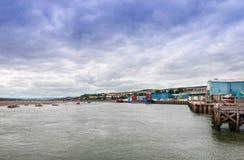 Teignmouth Estuary Stock Photo
