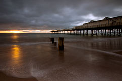 Teignmouth Pier Stock Photography