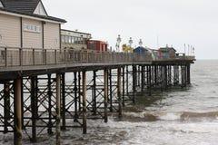 Teignmouth-Pier, Devon Stockfotografie