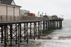 Teignmouth Pier, Devon stock photography
