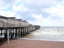Teignmouth Pier, South Devon. Stock Photos