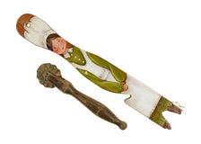 Teigschneider getragener Pan Holder Old Stockfotos