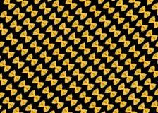 Teigwaren auf dem schwarzen Hintergrund Lizenzfreies Stockfoto