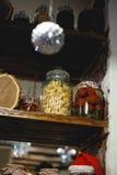 Teigwaren in einem Glas Lizenzfreie Stockbilder